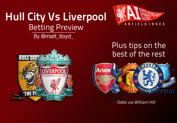 Hull Vs Liverpool Betting Tips