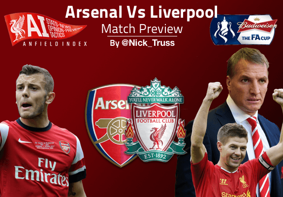 arsenal vs liverpool piala fa cup