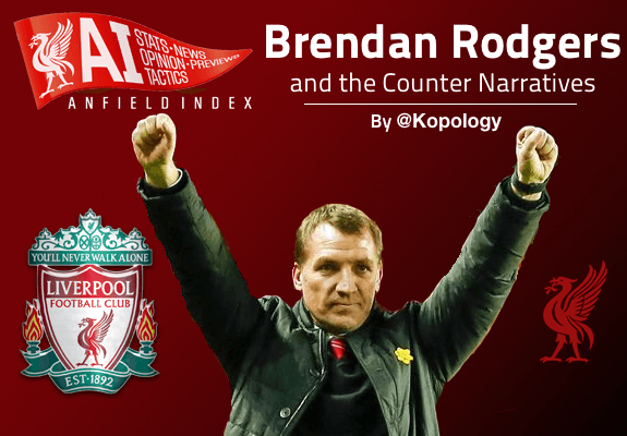 Brendan Rodgers Counter Narratives