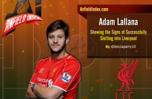 Lallana Slotting