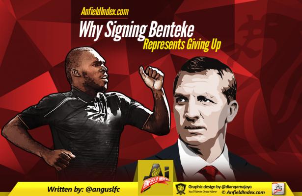Benteke Giving Up