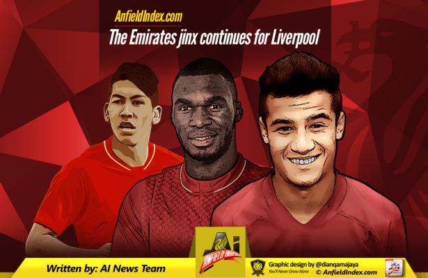 Emirates Jinx Liverpool
