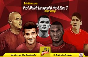 Post match West Ham Ratings