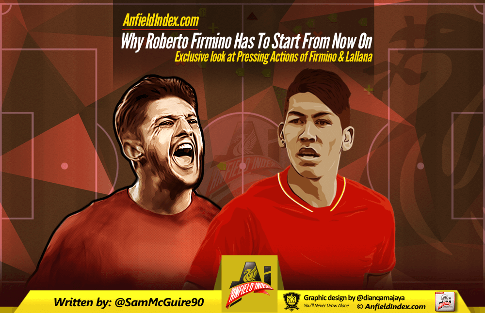 Why Roberto Firmino Has To Start From Now On Pressing Stats