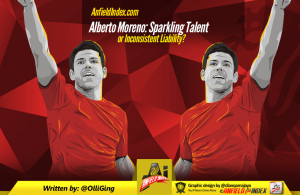 Moreno talented or inconsistant