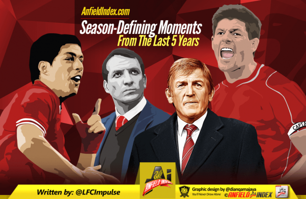 Season Defining Moments from last 5 years