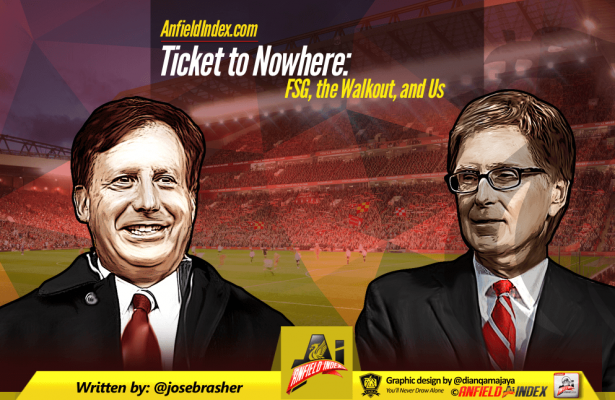 Ticket to Nowhere FSG Walkout and Us