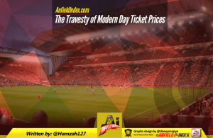 Travesty of Modern Day Ticket Prices