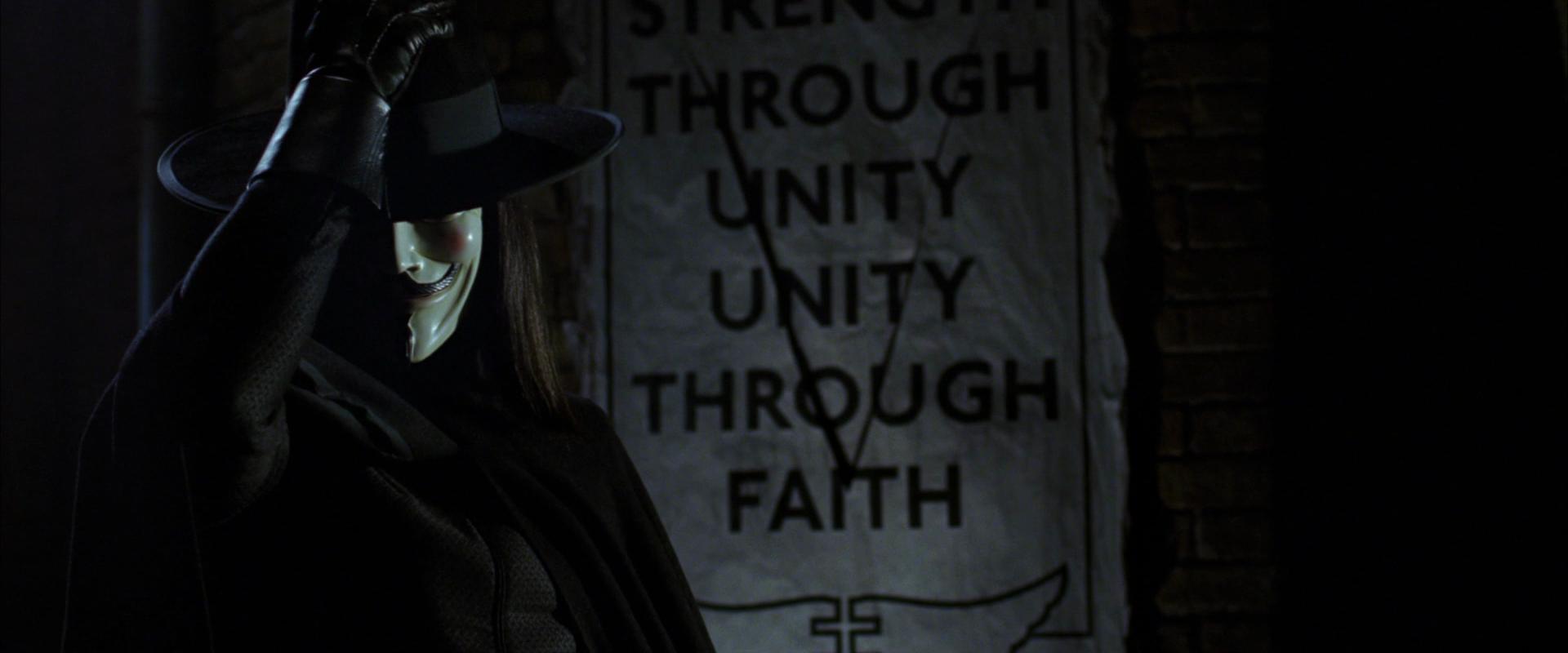 V for Vendetta Essay - Part 4