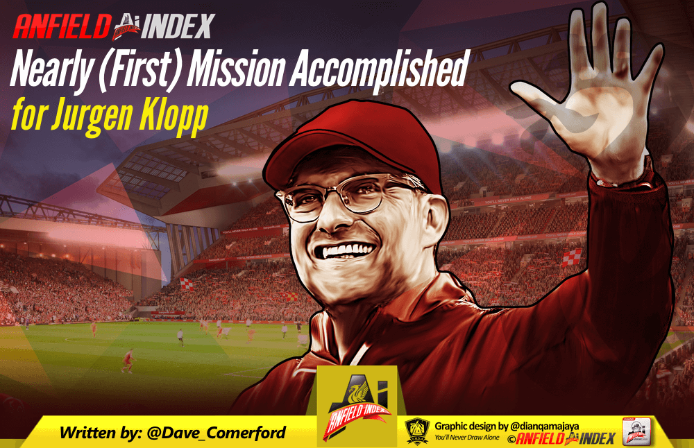 Nearly (First) Mission Accomplished for Jurgen Klopp