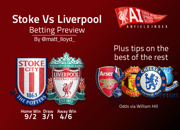 liverpool stoke city betting preview