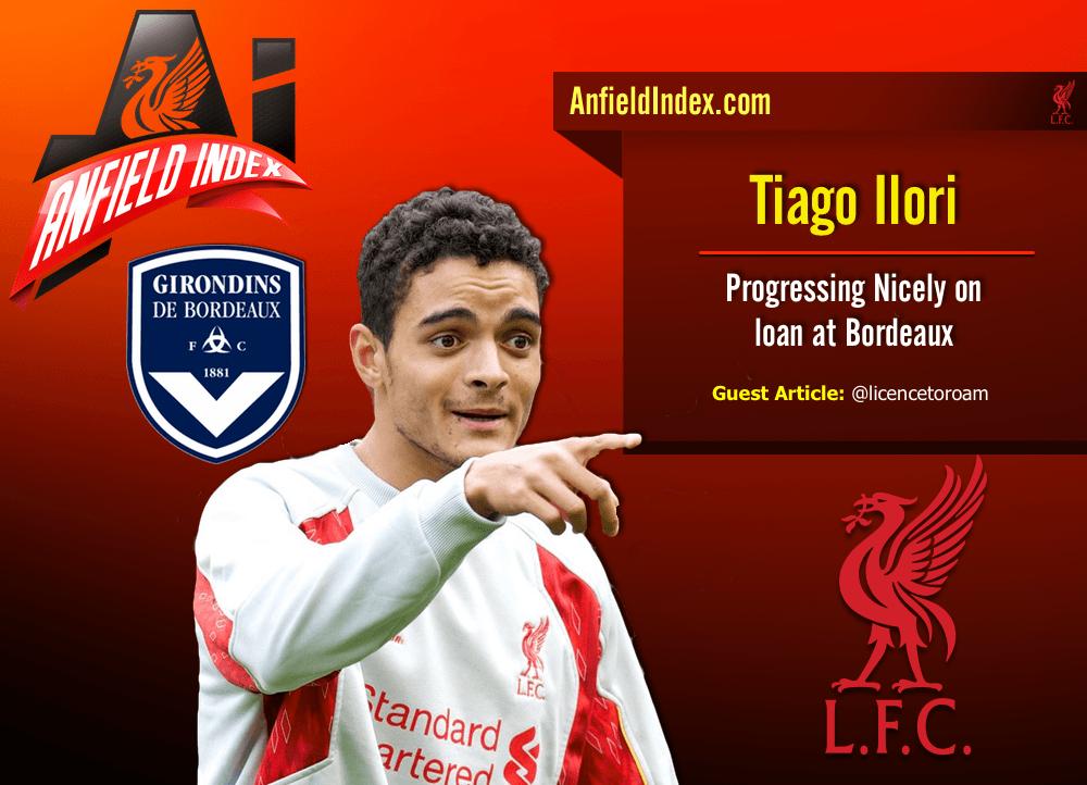 Tiago Ilori Progressing Nicely on loan at Bordeaux