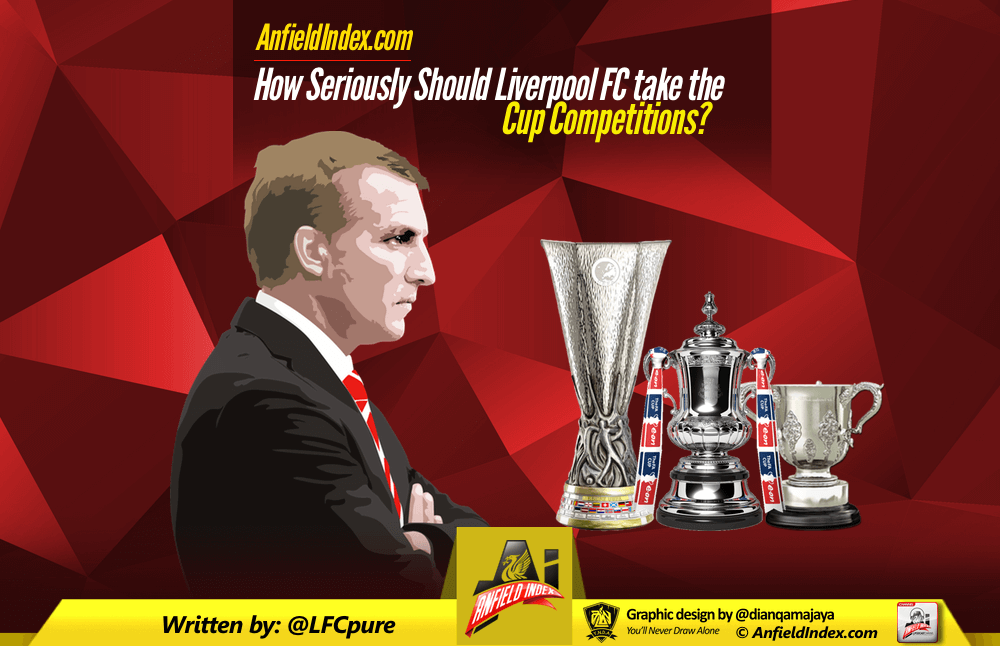 How Seriously Should Liverpool FC take the Cup Competitions?
