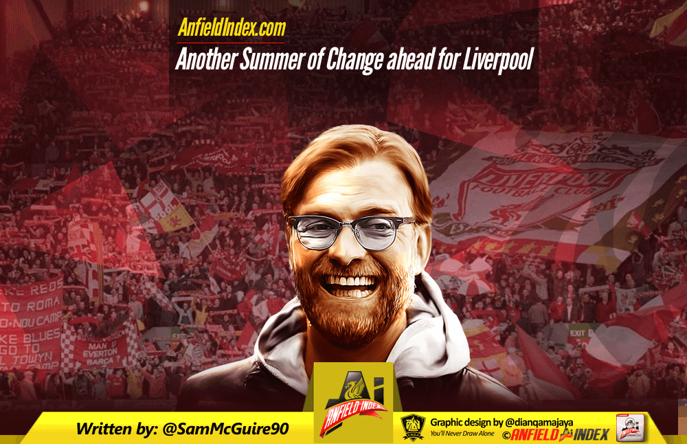 Another Summer of Change ahead for Liverpool
