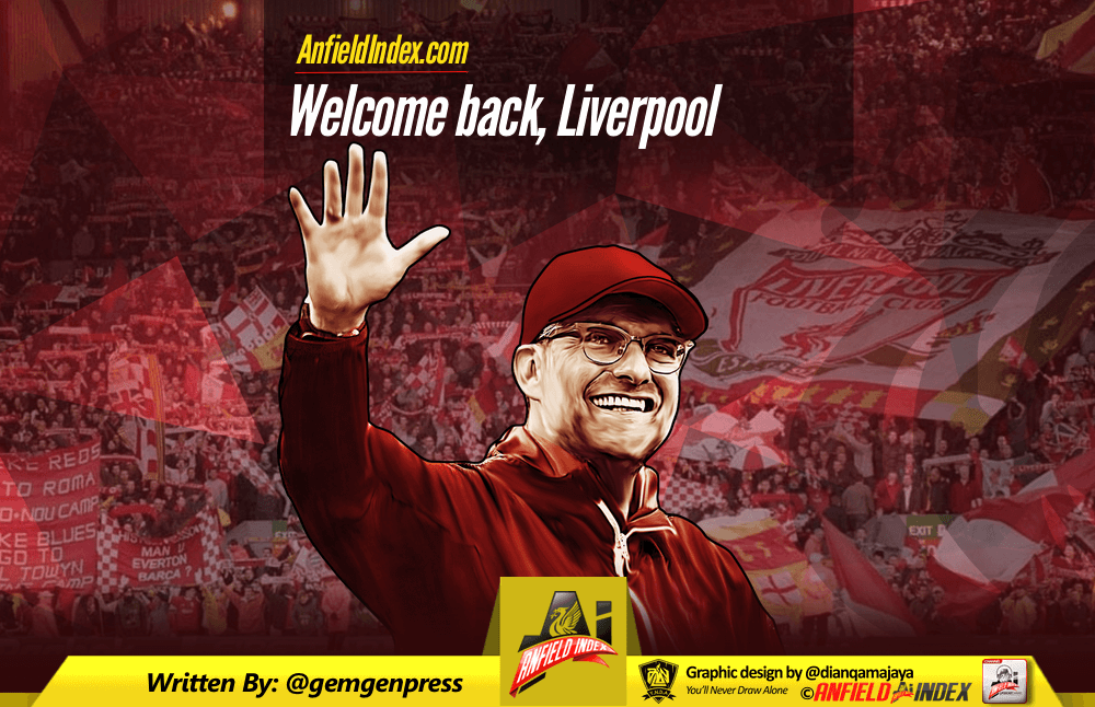 Welcome back Liverpool