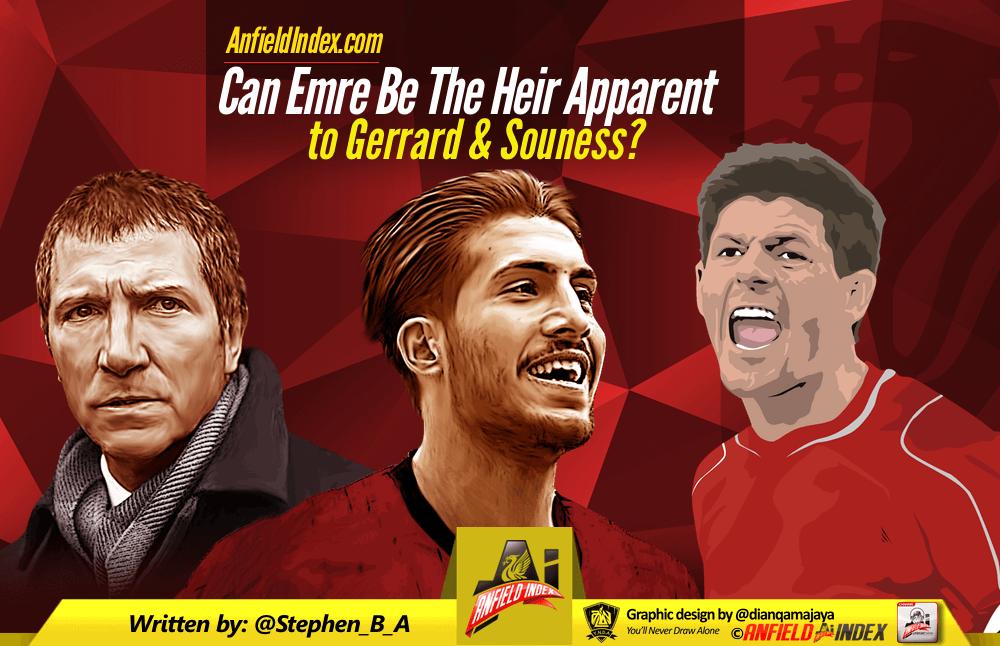 Can Emre Be The Heir Apparent To Gerrard & Souness