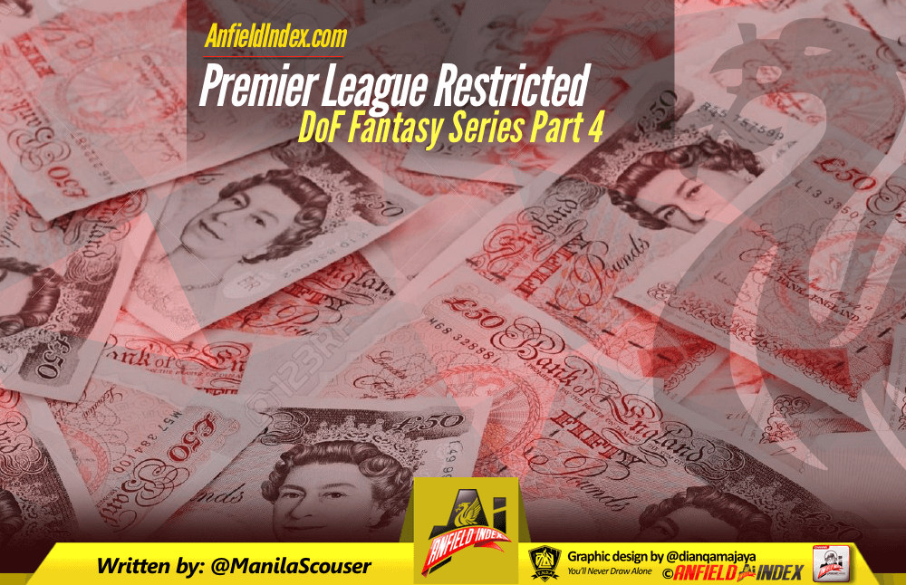 DoF Fantasy Series 4 - Premier League Restricted