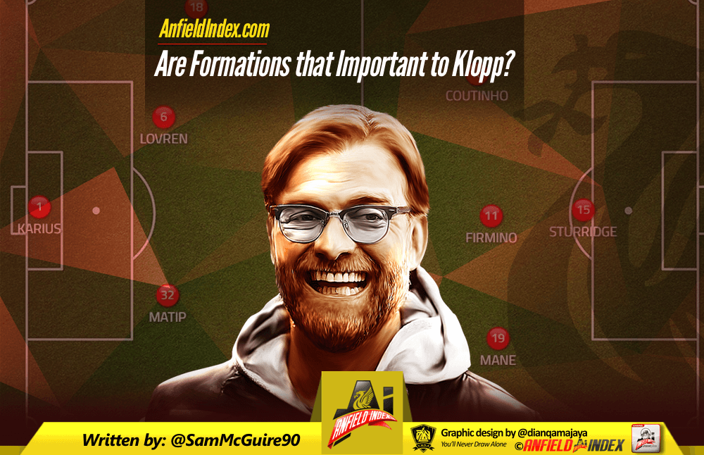 Are Formations that Important to Klopp