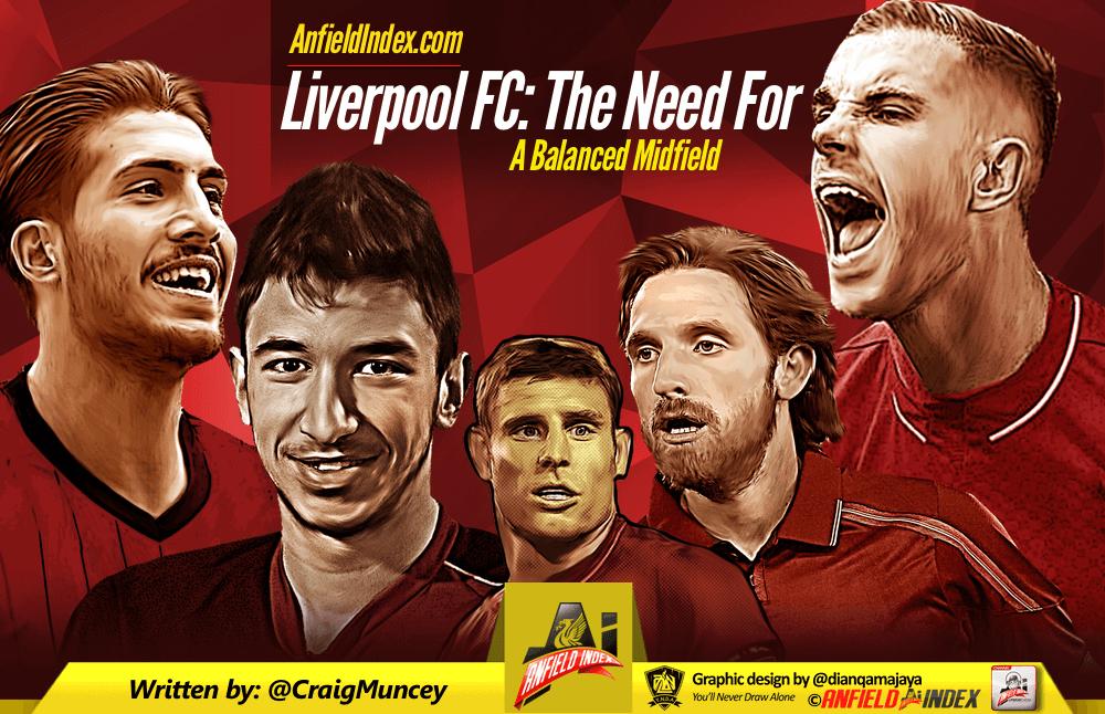 Liverpool FC - Need for balanced midfield