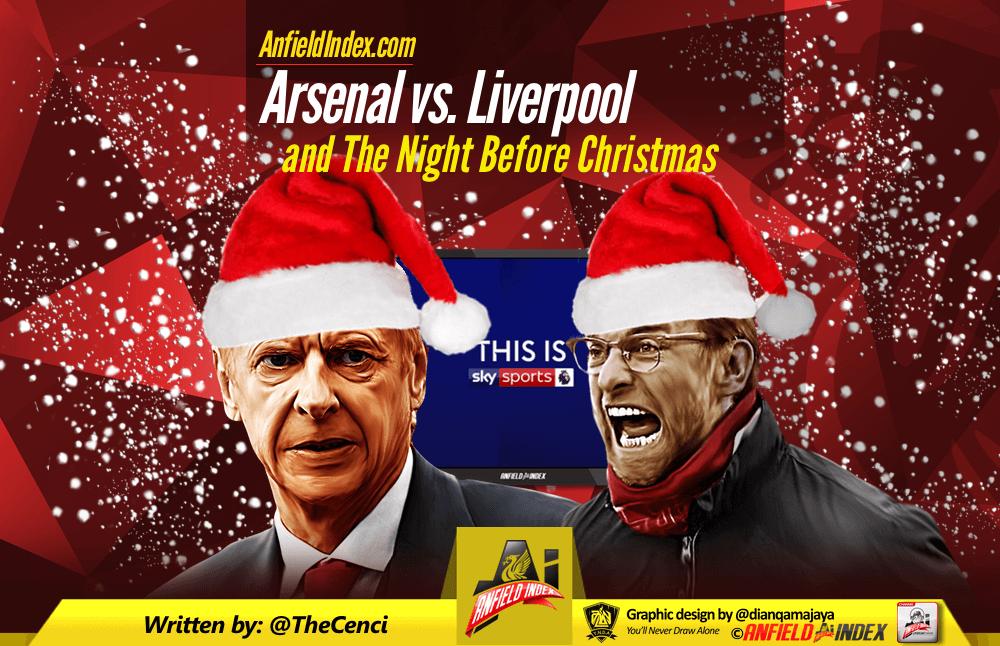 f34e1b58639 Arsenal vs. Liverpool and The Night Before Christmas