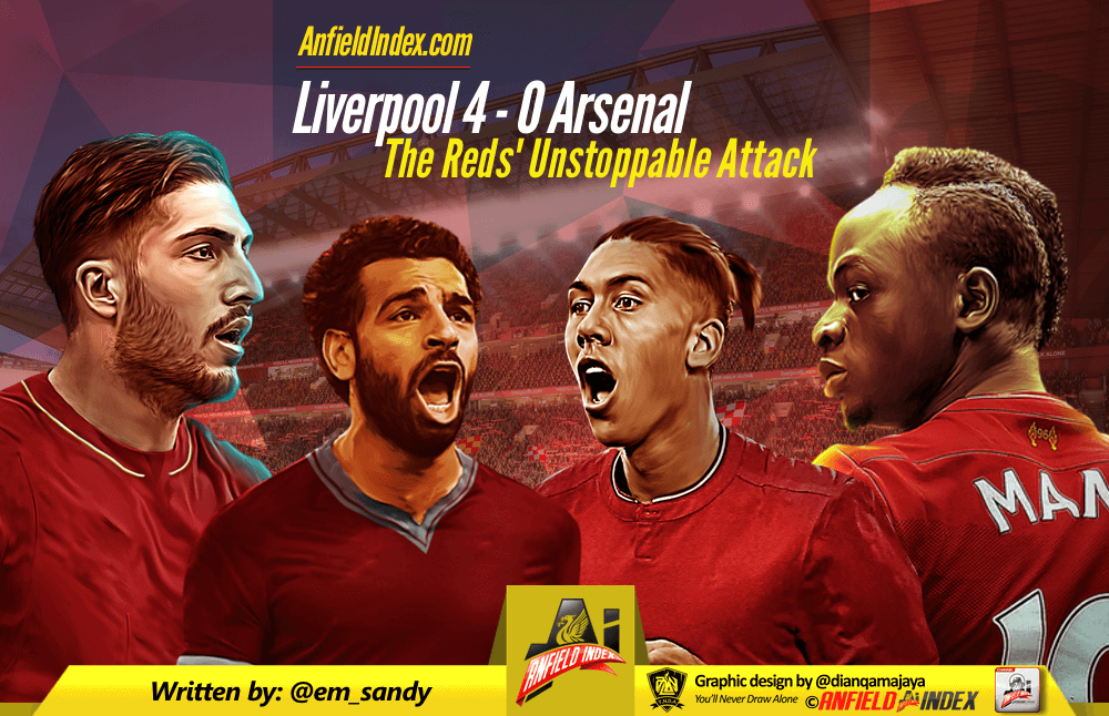 2e6b4fc15 Liverpool 4 - 0 Arsenal  The Reds  Unstoppable Attack