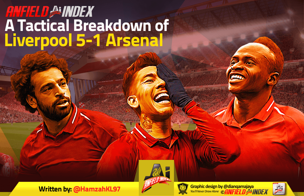 Liverpool 5-1 Arsenal: A Tactical Breakdown