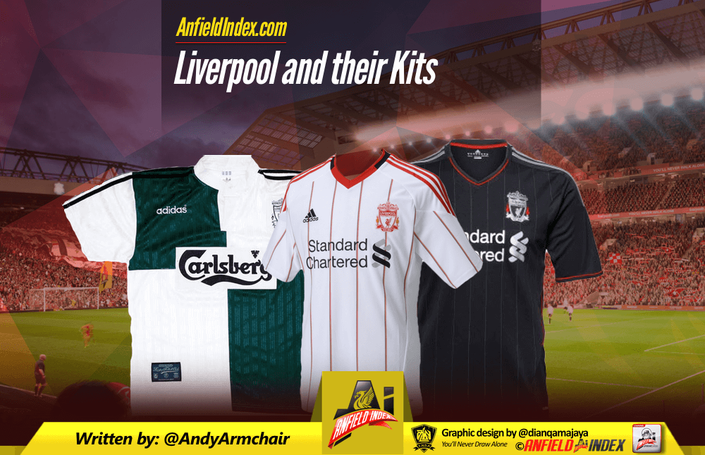 wholesale dealer 92a4a 74fcd Liverpool and Their Kits
