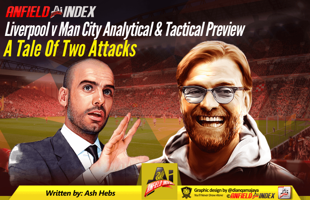 Liverpool V Man City A Tale Of Two Attacks Analytical Tactical Preview