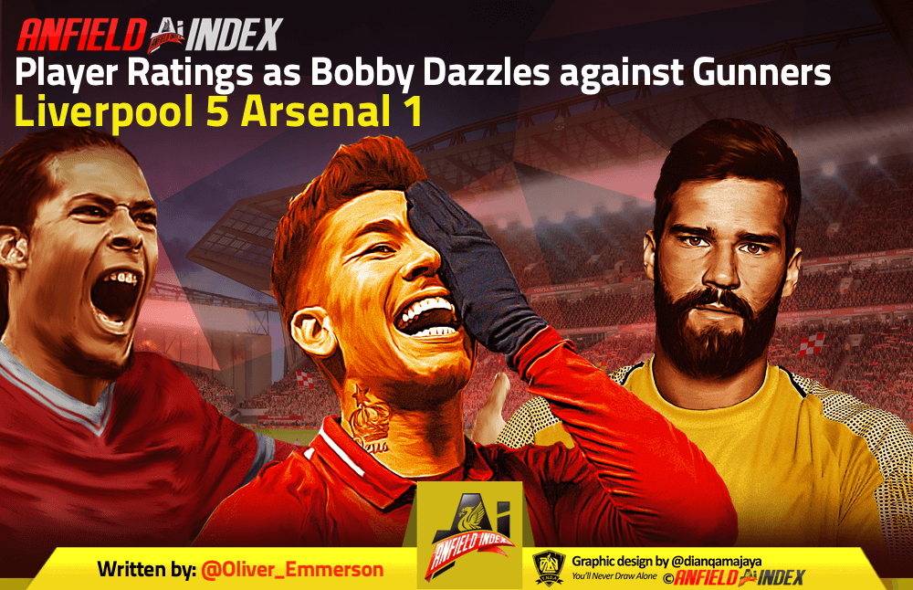 Player Ratings as Bobby Dazzles against Gunners
