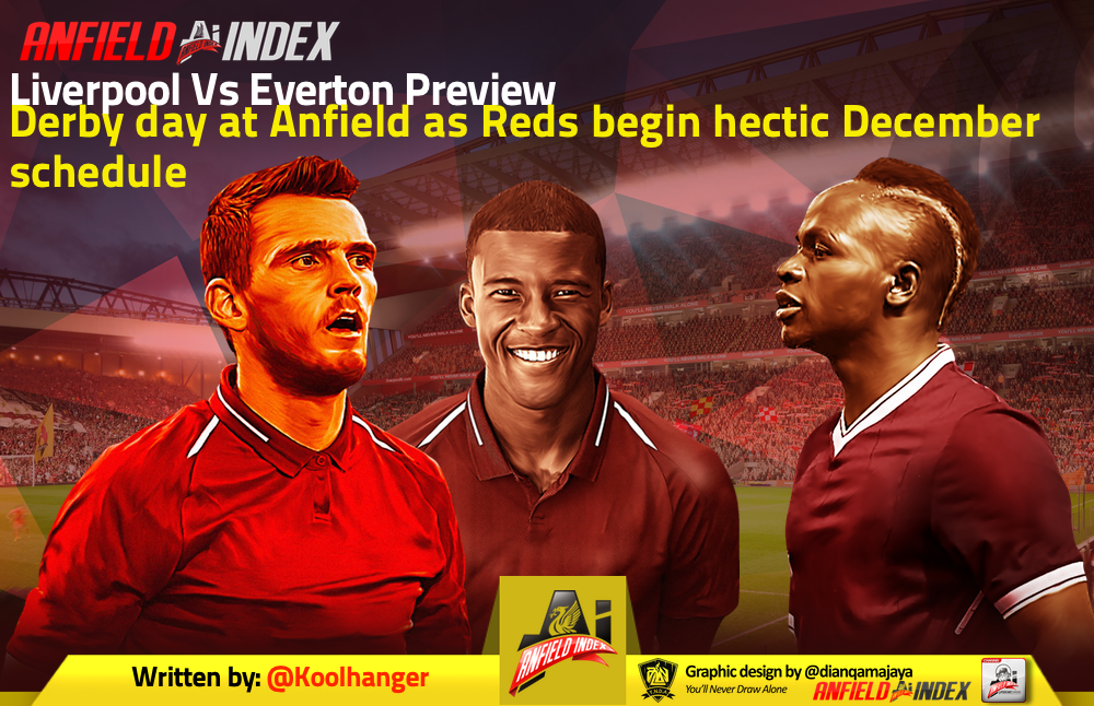 Liverpool Vs Everton Preview - Derby day at Anfield as ...